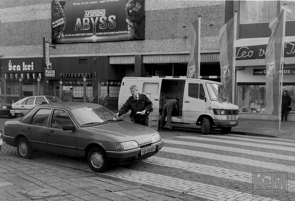 Oom agent op de Rotterdamse Kruiskade