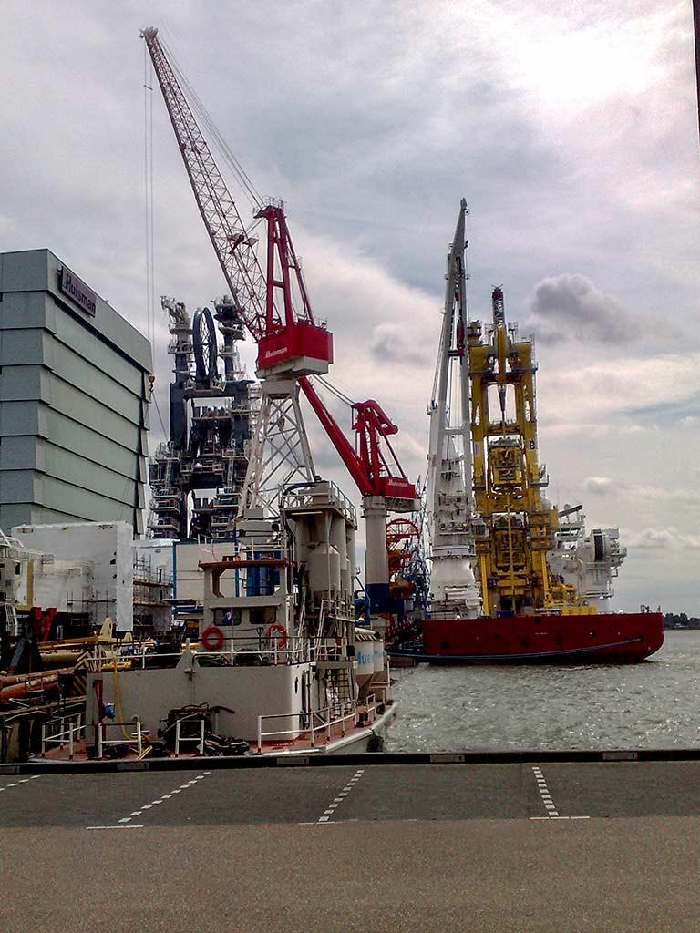 De haven van Schiedam: ode aan de ogen