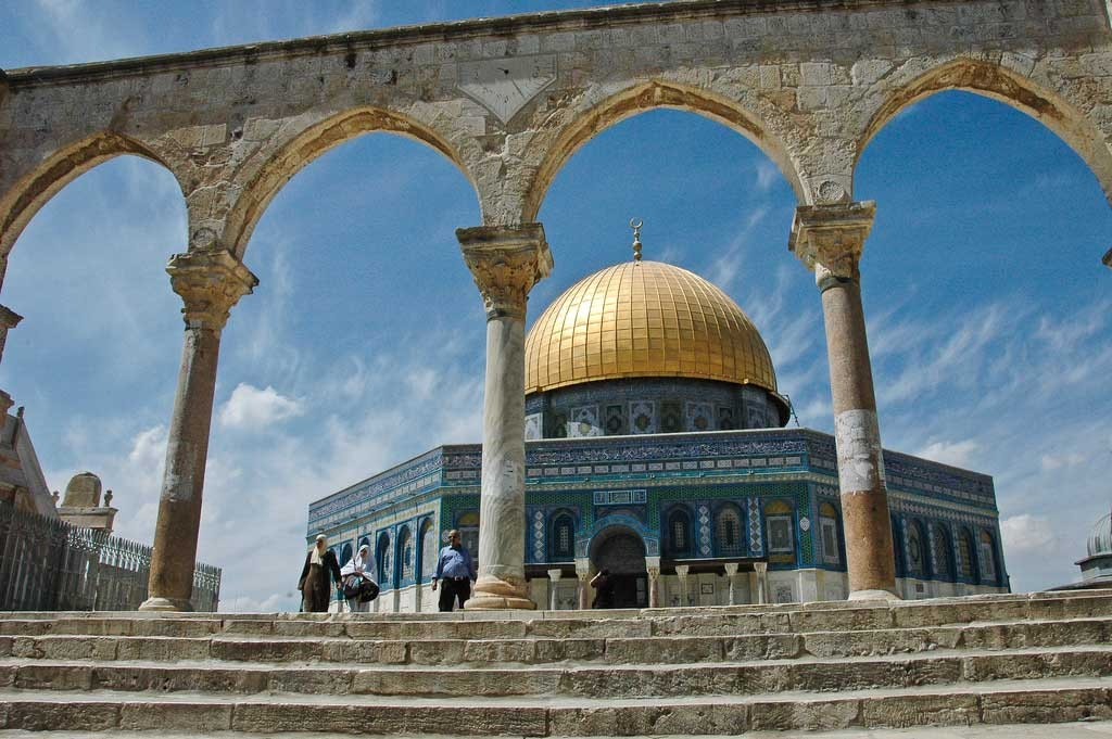 Ik was in Jeruzalem en dacht aan jou