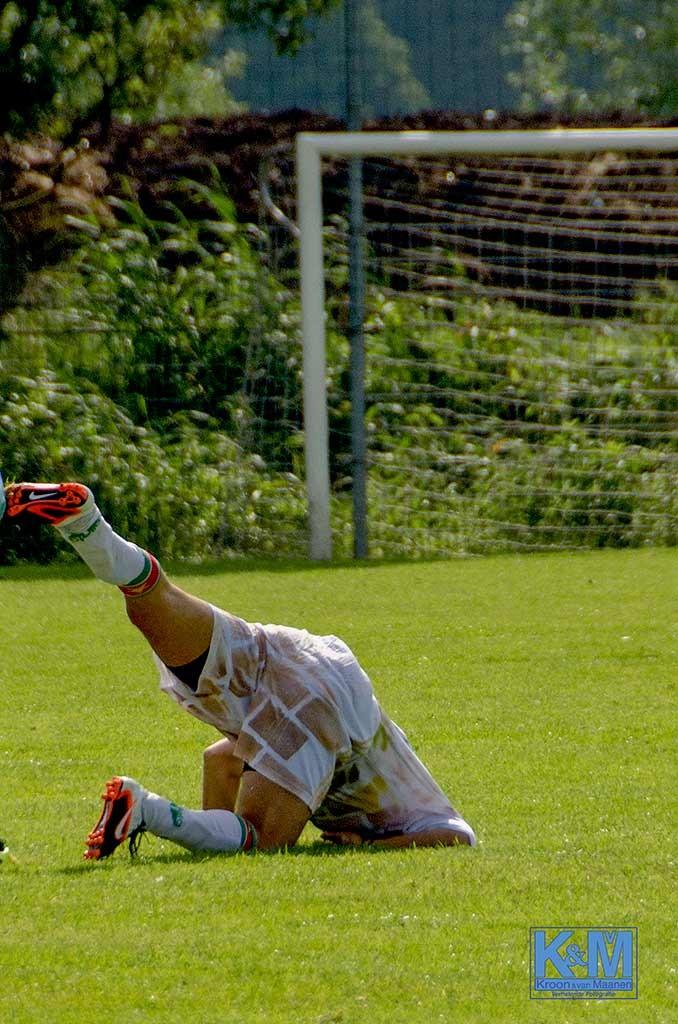 Een voetballer
