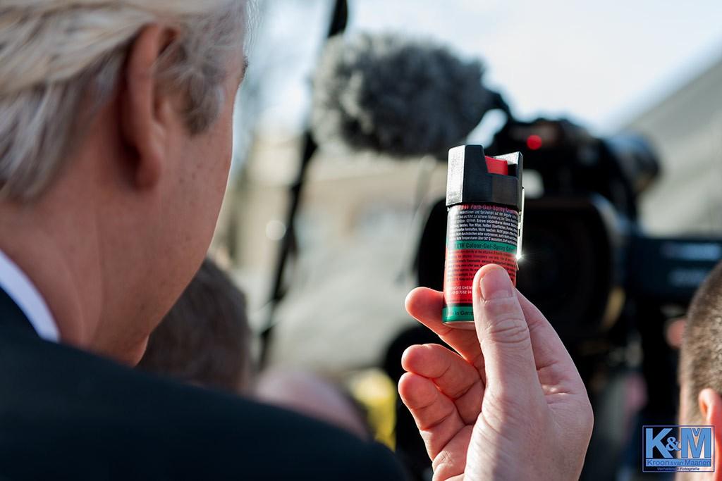 Landgenoten, dit is de spray.