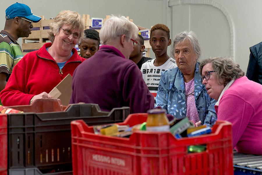 Voedselbank Spijkenisse: Het laatste nieuws voor de eerste krat