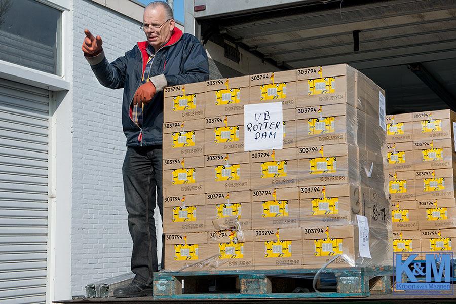 Voedselbank Spijkenisse: Rotterdam bevoorraadt Spijkenisse