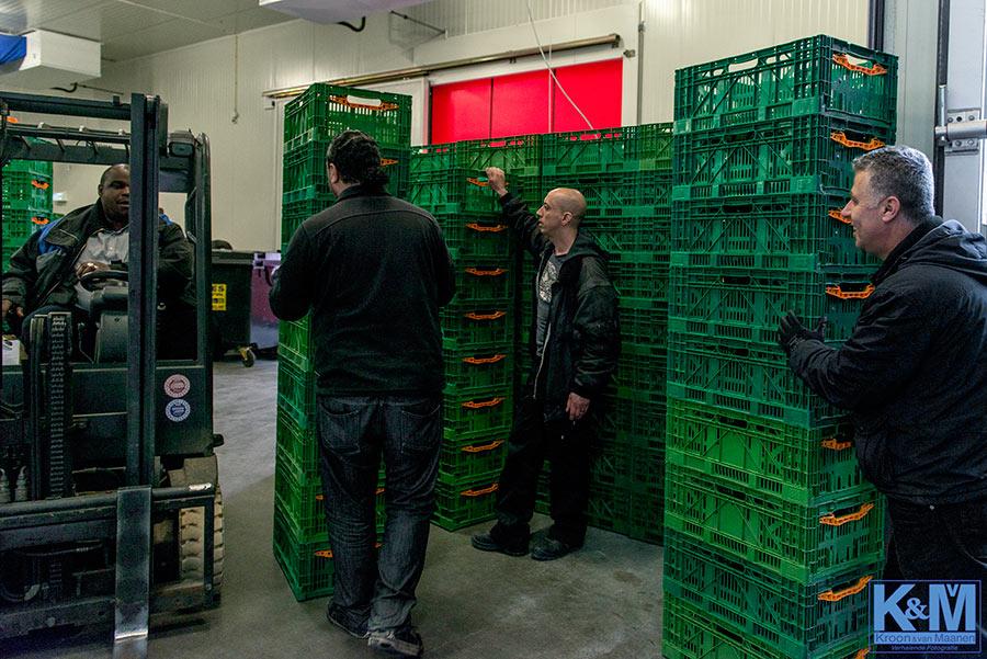 Voedselbanken: Kratten klaar voor de start