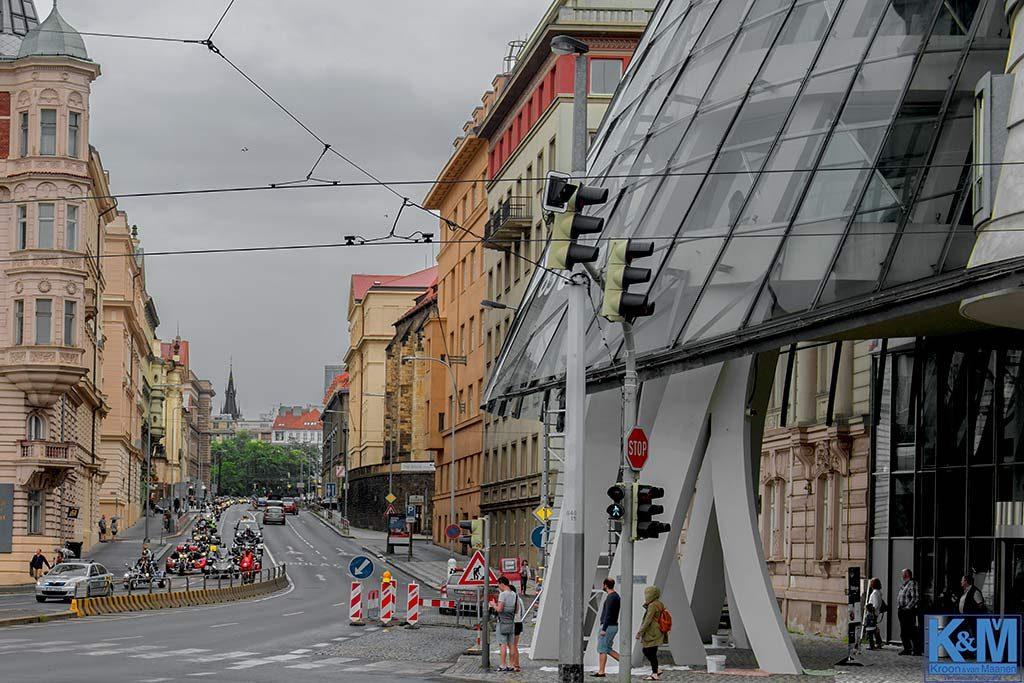 Praag: Zware jongens op pad