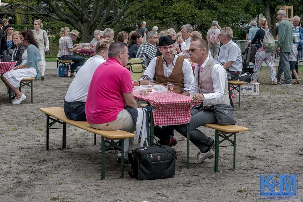 De picknick gedoogplek