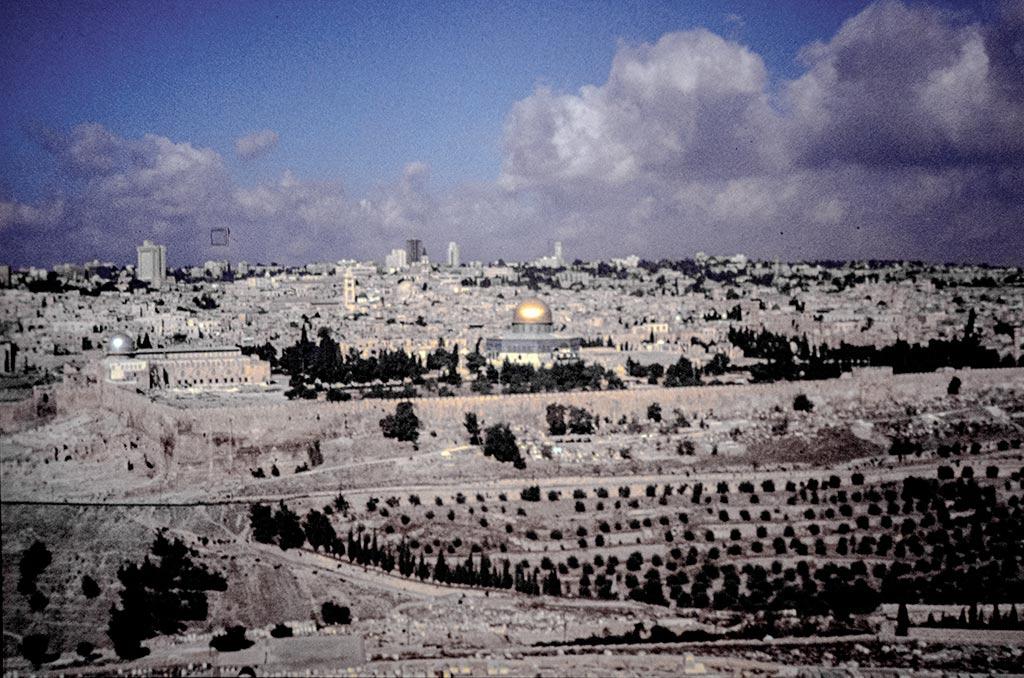 Háár blik, op míjn Jeruzalem