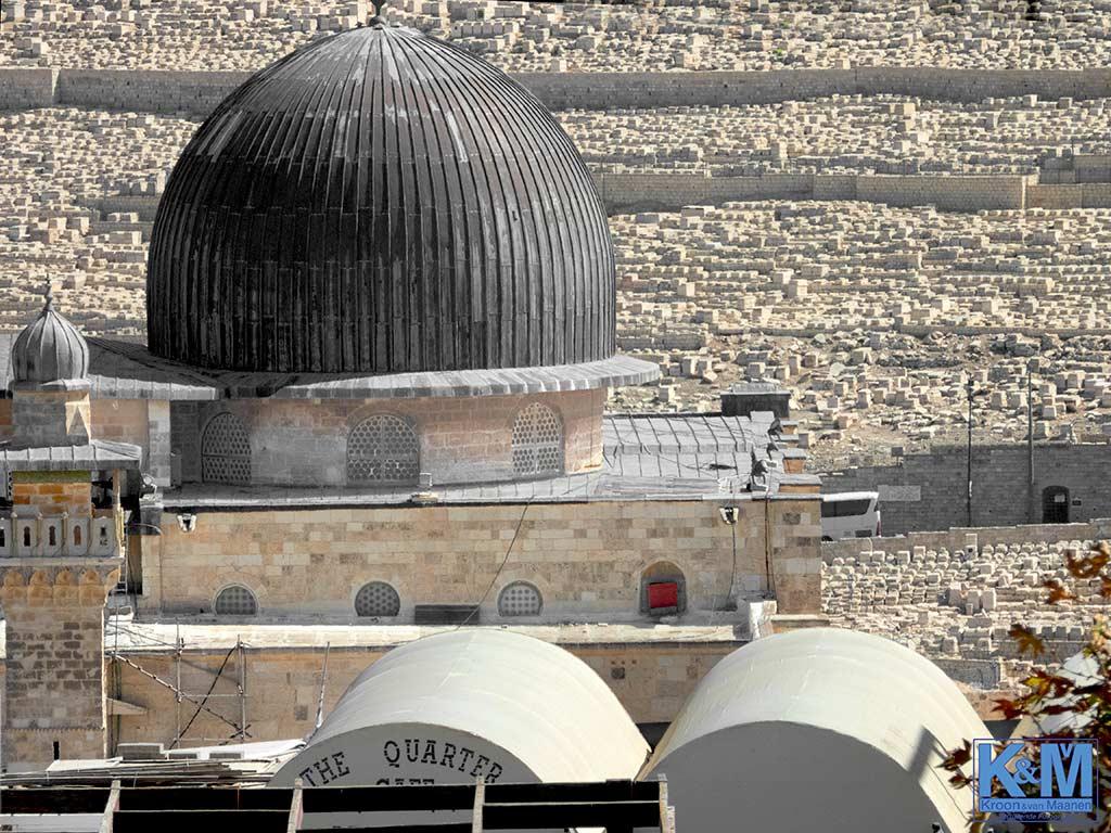 De al-Aqsa Moskee: geen fans van de Hurva